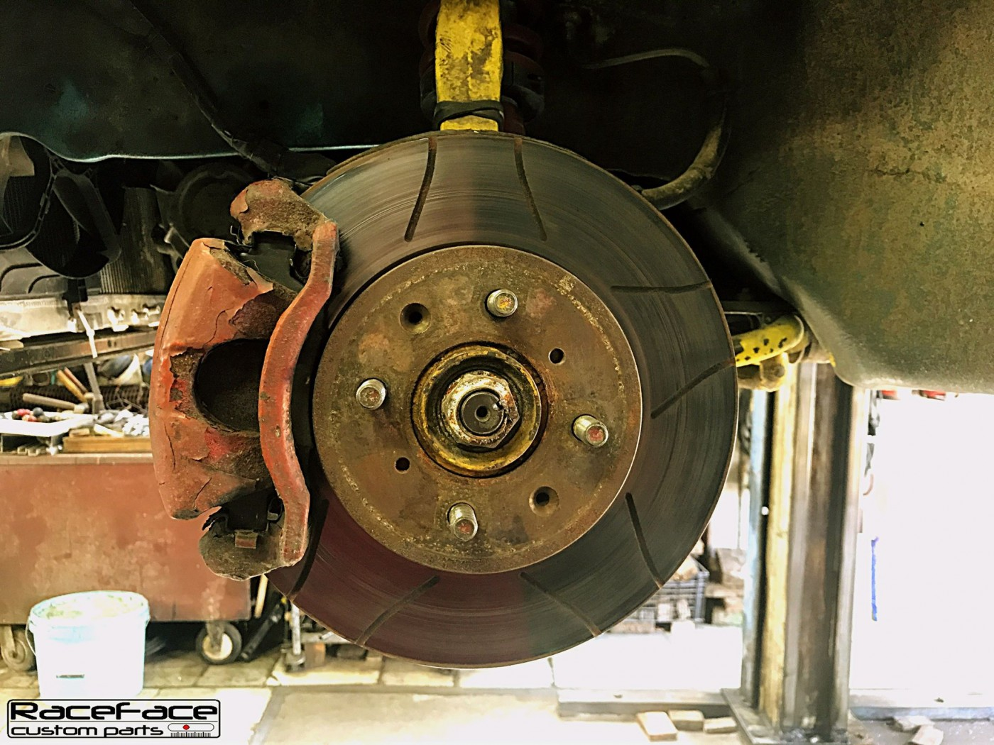 Old brakes system
